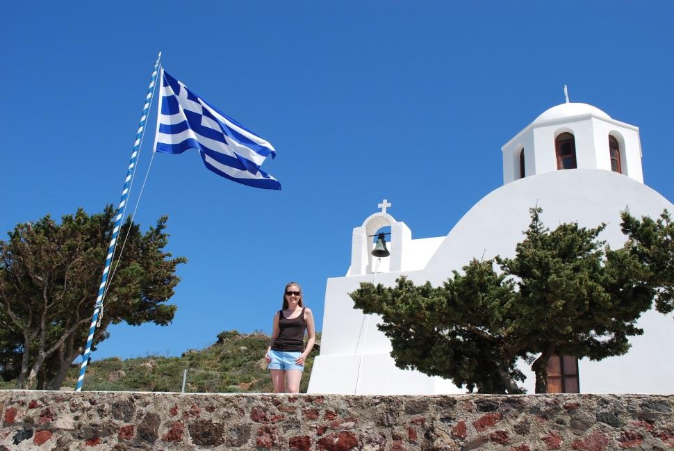 Santorini, Greece- College Graduation Trip 2009